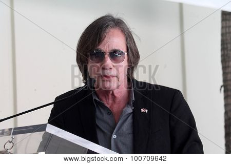 LOS ANGELES - AUG 27:  Jackson Browne at the Joe Smith Star on the Hollywood Walk of Fame at the Capital Records Building on August 27, 2015 in Los Angeles, CA