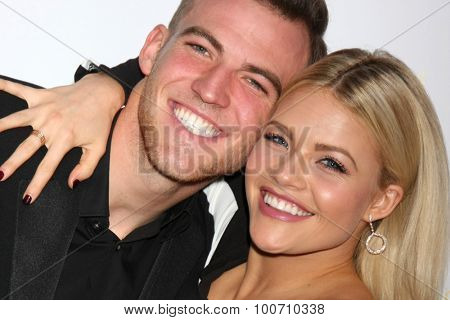 LOS ANGELES - AUG 30:  Carson McAllister, Witney Carson at the TV Academy Choreography Peer Reception at the Montage Hotel on August 30, 2015 in Beverly Hills, CA