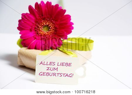 alles liebe zum geburtstag the german words for happy birthday