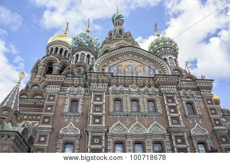 Church Of The Resurrection (savior On Spilled Blood) .1883-1907.  St. Petersburg