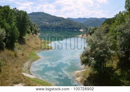 View Of The Lake Of Salto In Abruzzo, Italy 49