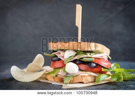 Juicy Toast Sandwich