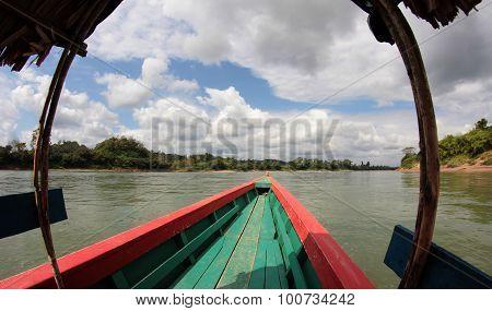 Cruising On The Usumacinta River
