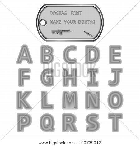 Dogtag Font Series 1.ai