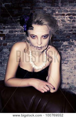 Woman In Halloween