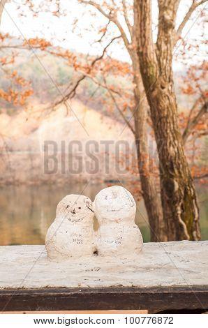 First Kiss Figure From Korean Drama Winter Sonata