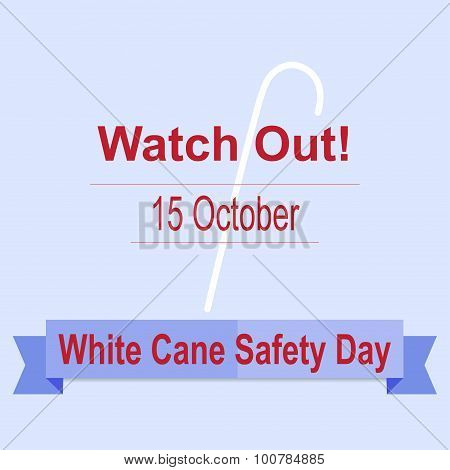 White Cane Safety Day