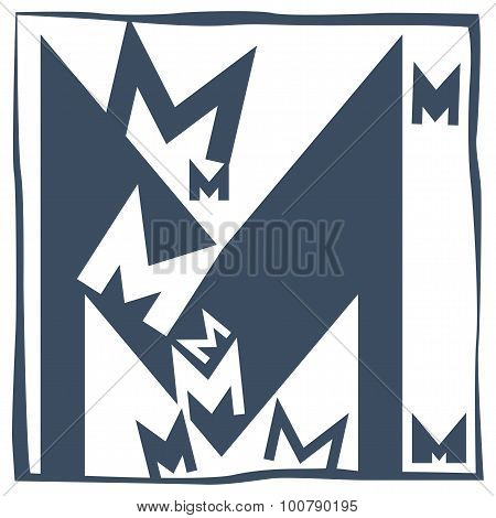 Initial Letter M