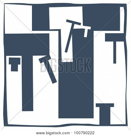 Initial Letter T