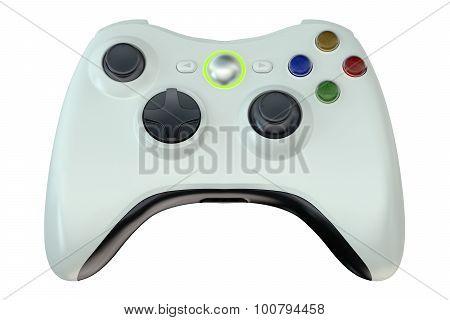 White Game Controller
