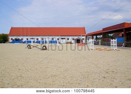 Field For Show Jumping