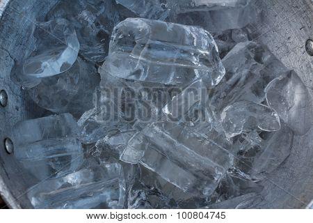 Ice In  Ice Bucket