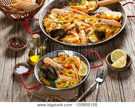 Paella - Traditional Spanish Food