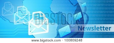 Newsletter Contact Us Banner.