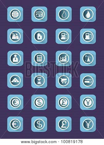 Buisiness Icon Set.