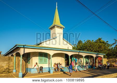 Church In The Morondava City