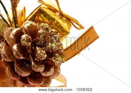 Golden Christmas Pine