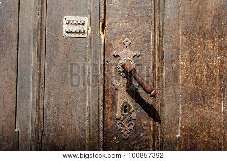 Old Nostalgical Doorknob