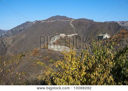 The Great Wall is the greatness of ancient Chinese buildings, is the symbol of the Chinese nation. The existing Great Wall, build in the Ming dynasty, the east up the yalu river, west stop as far as the jiayu pass through hebei, tianjin, Beijing, Inner Mo poster