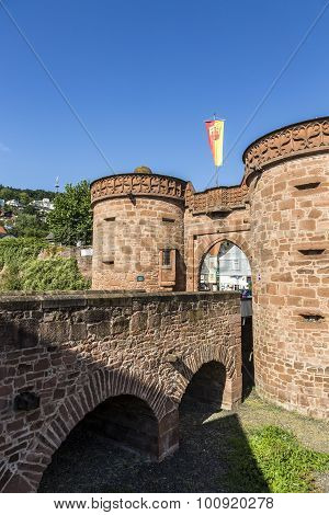 Old City Wall In Buedingen