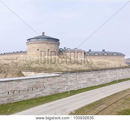 Part of Karlsborg Fortress, Sweden.