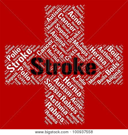 Stroke Illness Indicates Transient Ischemic Attack And Disease