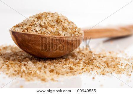 Spa essentials (bath salt in a spoon)