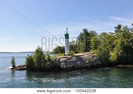 Lighthouse of Thousand Island, Canada