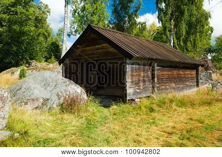 Unpainted Store House