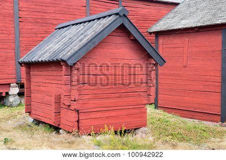 Small Storage Farmhouse