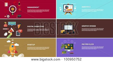 Management digital marketing srartup planning