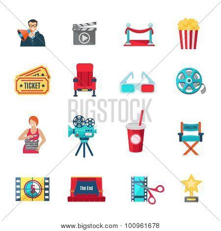 Filmmaking Icons Set