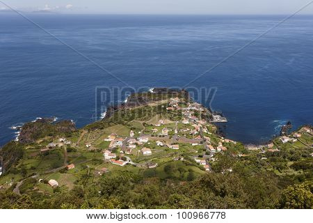 Faja Do Ouvidor In Sao Jorge. Azores, Portugal. Atlantic Ocean