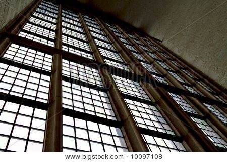 Light Shining Through A Church Window