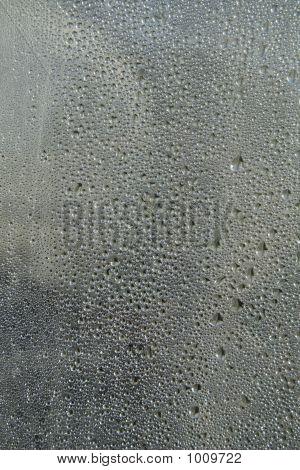 Glassy Droplet
