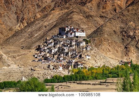 Chimray Monastery, Ladakh, Jammu And Kashmir, India