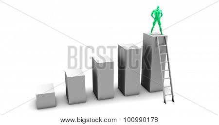 Empowered Individual Through Success at the Top