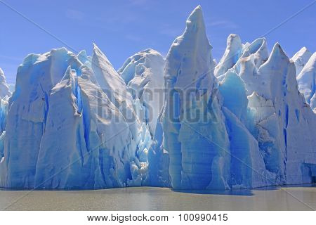 Ice Castles On A Sunny Day