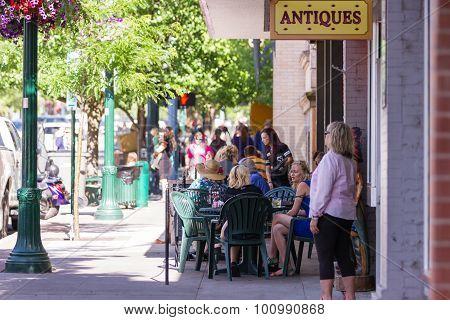 Summertime, Downtown Coeur D' Alane