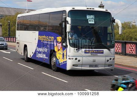 Megabus In London