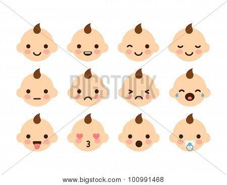 Baby Emoticons