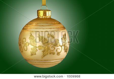 Christmas Ornament Gold