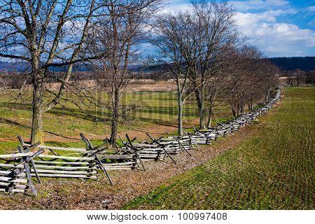Antietam Landscape in Fall