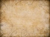 aged treasure map background with compass  poster