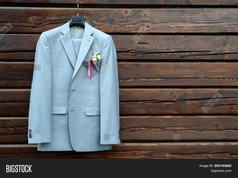 Stylish Elegant Wedding Groom Suit Image & Photo | Bigstock