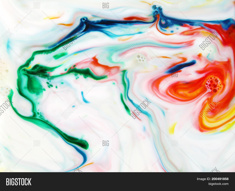 Food Coloring Milk Image & Photo (Free Trial)   Bigstock