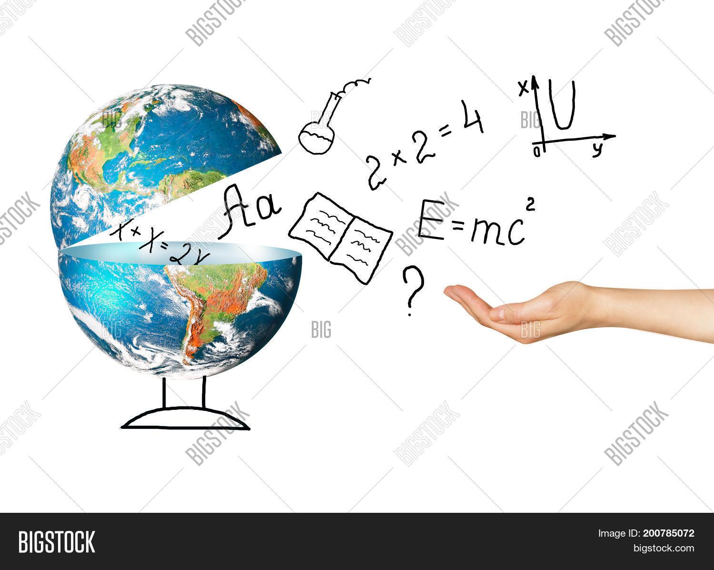 Globe Symbols School Image Photo Free Trial Bigstock