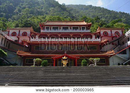 Chan Guang Temple In Taroko National Park