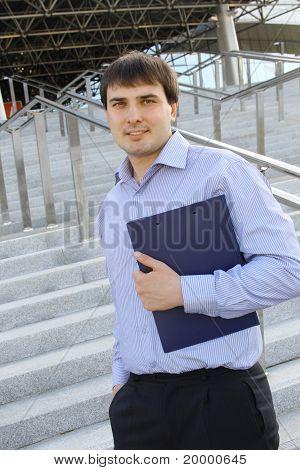 Homme d'affaires moderne