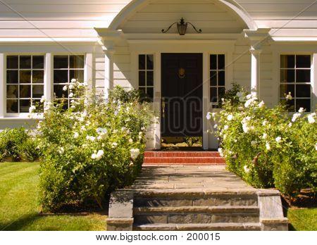 Eleganten Eingang 45